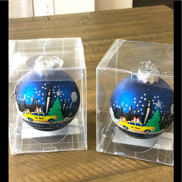 Kurt Adler Christmas ornaments